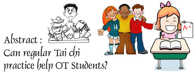 Tai Chi practice help OT Students