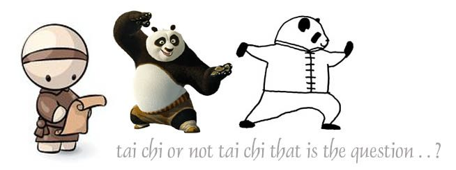 Tai Chi or not Tai Chi, that is the question?